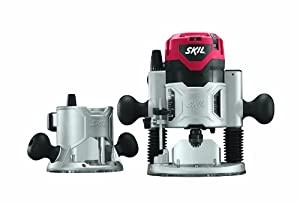 SKIL 1830 120-Volt 2-1/4 HP Combo Base Router Set by Skil