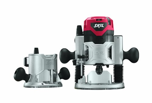 Why Choose SKIL 1830 120-Volt 2-1/4 HP Combo Base Router Set