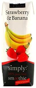 ユウキ スムージー ストロベリー&バナナ 250ml