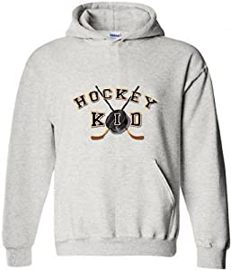 Hockey Hooded Sweatshirt: Hockey Kid by Fair Game