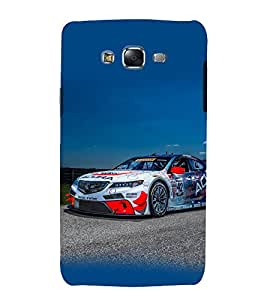printtech Superfast Car Racing Back Case Cover for Samsung Galaxy A5 / Samsung Galaxy A5 A500F
