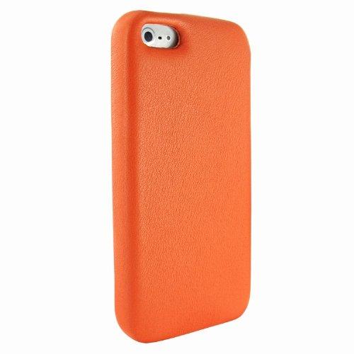 Best Price Apple iPhone 5 / 5S Piel Frama Orange FramaGrip Leather Cover