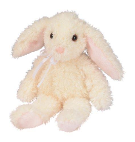 """Stella Floppy Ivory Bunny 11"""" by Douglas Toys - 1"""