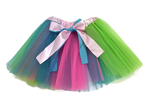 Rush Dance 3 Colors Easter Colorful Ballerina Girls Dress-Up Princess Costume Tutu