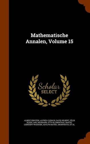 Mathematische Annalen, Volume 15