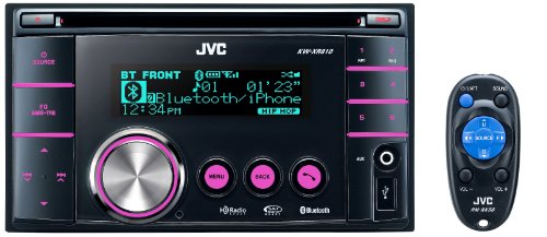 JVC KW-XR810 4 x 50 Watts Dual USB/CD Receiver