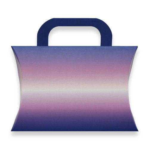 Berwick Ombre Pillow Box Gift Card Holder, Purple, 7 3/8