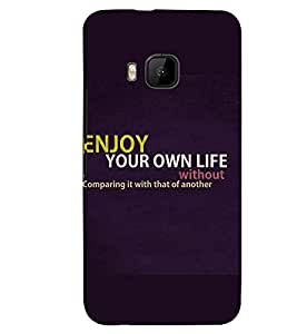 PRINTSWAG QUOTE Designer Back Cover Case for HTC ONE M9S