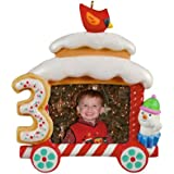 Hallmark Keepsake Ornament 2011 My Third Christmas Photo Holder (Undated)