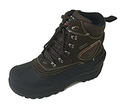 VC607S Men's Winter Boots Snow Leather Cold Weather
