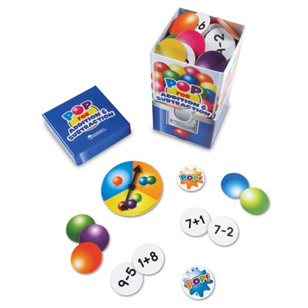 POP for Addition and Subtraction Card Game
