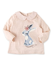 Autograph Polka Dot Bunny Top with Modal