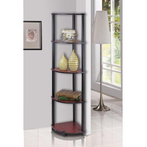 Corner Wall Shelves 5 Tier Rack Display Storage Shelf
