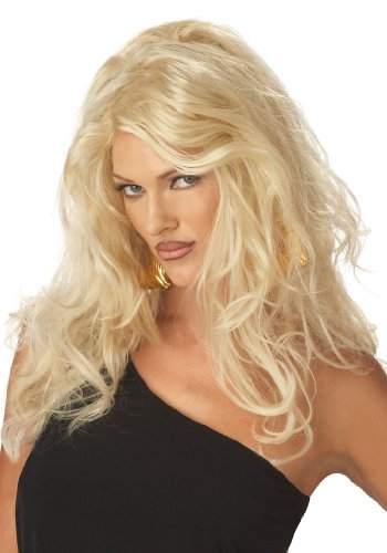 Sexy Blonde Wig - Adult Std.