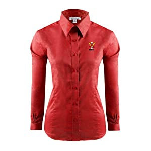 VMI Ladies Red House Red Long Sleeve Shirt
