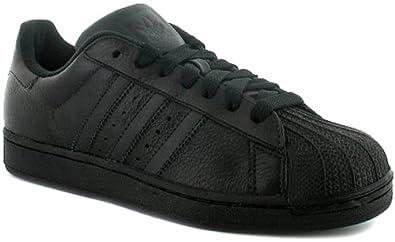 Mens Adidas Basketball Inspired Trainers. - Black - UK 12.5