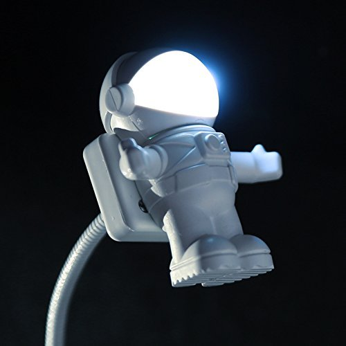 Soondar® Hot Sale Brand New Creative Spaceman Astronaut LED Flexible USB Light for Laptop PC Notebook