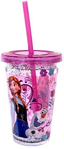 Disney Frozen Tumbler With Straw - Anna