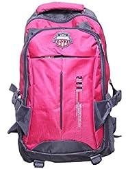 American Flyer Nylon Pink School Backpack