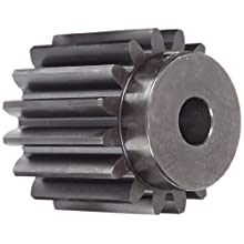 Martin Spur Gear, 20° Pressure Angle, High Carbon Steel, Inch, 4 Pitch