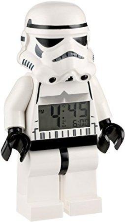 LEGO Kids' 9002137 Star Wars Storm Trooper Mini-Figure Alarm Clock