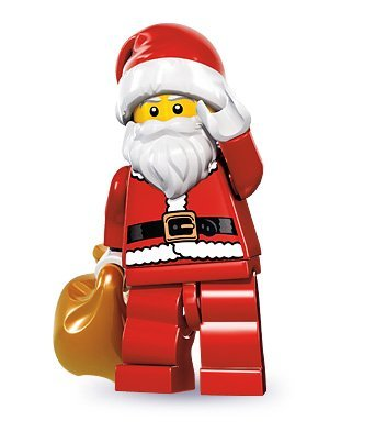 LEGO Series 8 Collectible Minifigure - Santa with Toy Sack - 1