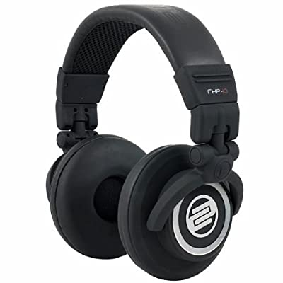 RHP-10 Flash Black Headphones