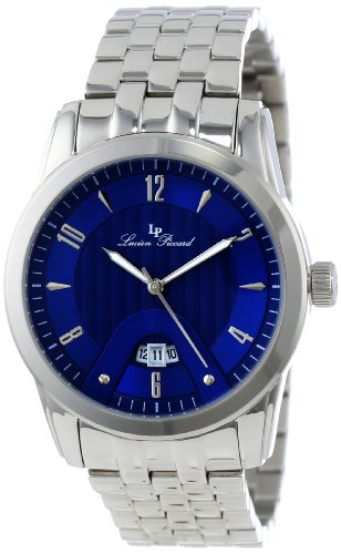 Lucien Piccard Men's LP-12355-33 Diablons Blue Dial Stainless Steel Watch