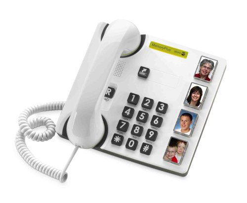 Doro 319PH Lightweight Large Visibility Corded Phone - White Reviews