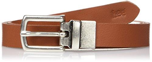 Lee Reversible Belt Turtledove, Cintura Donna, Avorio (Turteldove CV), 80 cm
