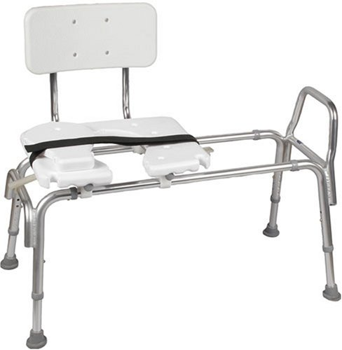 Bath seats for elderly get rid of the fear of slipping Sliding transfer bench