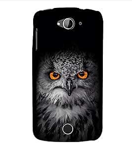 EPICCASE Intense Owl Mobile Back Case Cover For Acer Liquid Z530 (Designer Case)