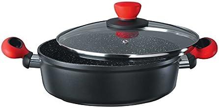 Style'n Cook I258524 24-er Servierpfanne mit Deckel Rockpearl Fire