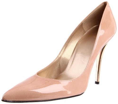 Stuart Weitzman Women's Naughty Pump,Adobe Aniline,8 M US