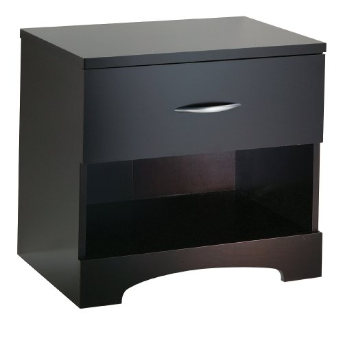 South Shore Furniture, Step One Collection, Night Table, Chocolate