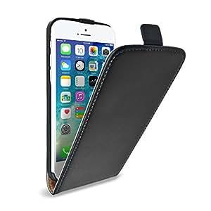 Amazon.com: Caseflex iPhone 6 Case Black Genuine Leather