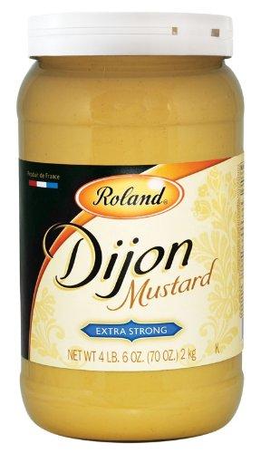 Roland Dijon Mustard, 4.6-Pound Jar