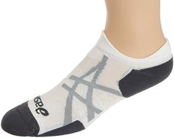 ASICS Nimbus II Low Cut Running Socks,White/Iron,Large