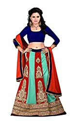 Astha Fashion Bridal Ware Multi Color Lehenga