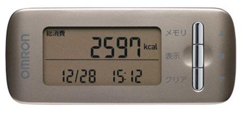 【Amazonの商品情報へ】オムロン(OMRON) 活動量計 ゴールド HJA-306-GD
