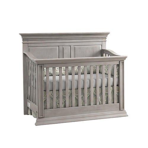 Baby Cache Vienna Lifetime Crib Ash Gray front-1005755