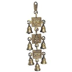 Shubh Ganesha Labh Brass Bell