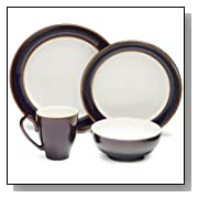 Denby Amethyst 4-Piece Decorative Place Setting