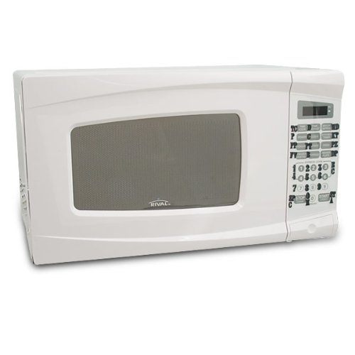 Compact Microwave Express Cook Tactile White
