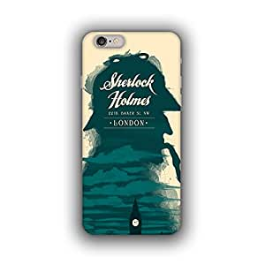 Caseque (Pro) Sherlock Holmes Back Cover for Apple iPhone 6 Plus