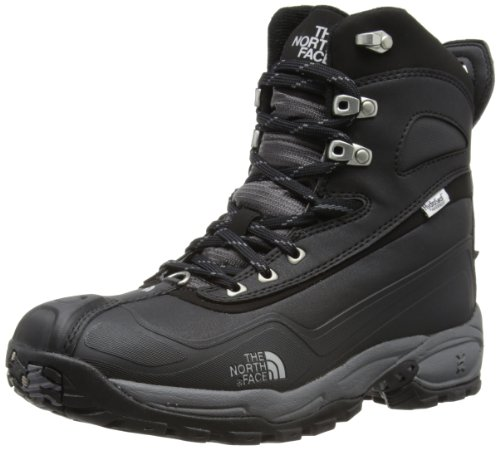 THE NORTH FACE Flow Chute T0AHDB019, Stivaletti da neve uomo, Nero (Schwarz (Black/Pewter Grey)), 44.5