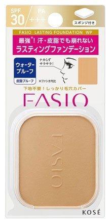 コーセー ファシオ ラスティングファンデーションWP(レフィル)<ケース別売>《10g》<カラー:410>×3