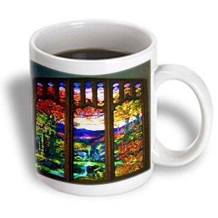 Spiritual Awakenings Landscape Nature - Window To Paradise Beautiful Colors Mountains Waterfalls A Designer Original - 11Oz Mug (Mug_110975_1)