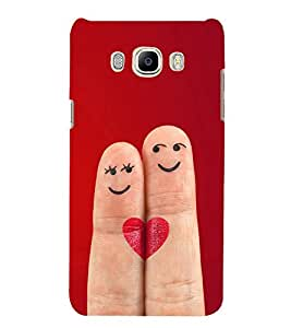 Smiley Fingers 3D Hard Polycarbonate Designer Back Case Cover for Samsung Galaxy J5 2016 :: Samsung Galaxy J5 2016 J510F :: Samsung Galaxy J5 2016 J510FN J510G J510Y J510M :: Samsung Galaxy J5 Duos 2016