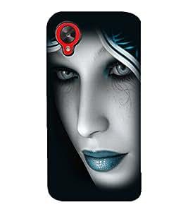 printtech Beautiful Girl Closeup Back Case Cover for LG Google Nexus 5::LG Google Nexus 5 (2014 1st Gen)